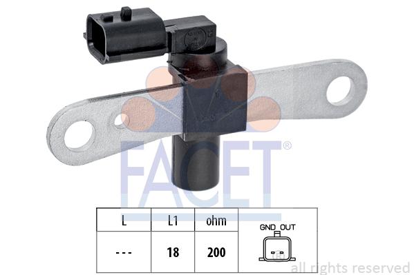Capteur d'angle FACET 9.0659 (X1)
