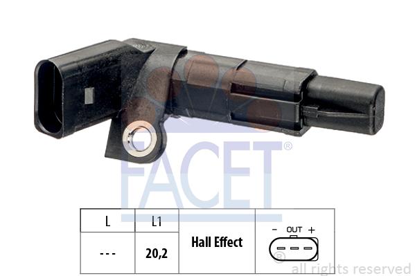 Capteur d'angle FACET 9.0683 (X1)