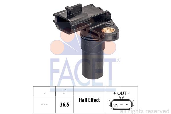 Capteurs/calculateurs/sondes FACET 9.0775 (X1)