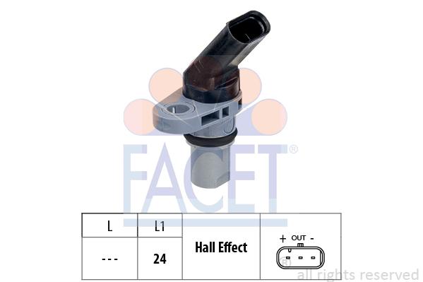 Capteur de regime FACET 9.0778 (X1)