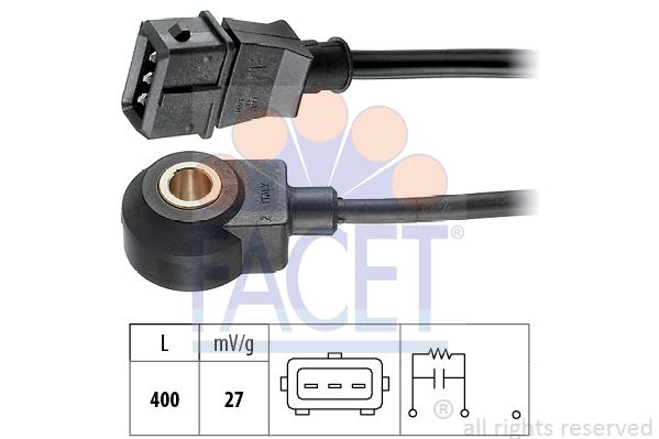 Capteur de cliquetis FACET 9.3002 (X1)