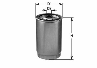 Filtre a carburant CLEAN FILTERS DN 323 (X1)