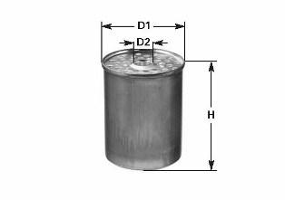 Filtre a carburant CLEAN FILTERS DN 222 (X1)