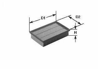 Filtre a air CLEAN FILTERS MA 435 (X1)