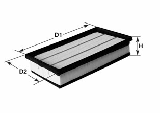 Filtre a air CLEAN FILTERS MA3115 (X1)