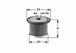 Filtre a carburant CLEAN FILTERS MG 083 (X1)