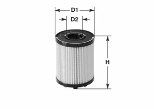 Filtre a huile CLEAN FILTERS ML4570 (X1)