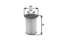 Filtre a carburant CLEAN FILTERS MG3602 (X1)