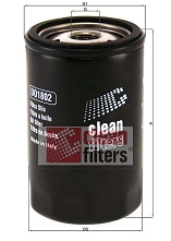 Filtre a huile CLEAN FILTERS DO1802 (X1)