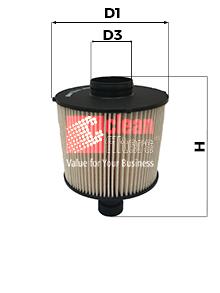 Filtre a carburant CLEAN FILTERS MG3611 (X1)