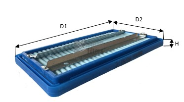Autres filtres CLEAN FILTERS MVG7501 (X1)