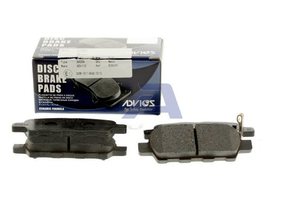 Plaquettes de frein arriere AISIN B2N095 (X1)
