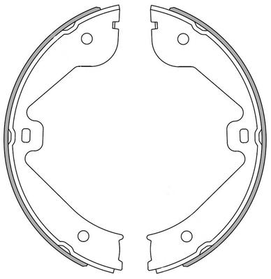 kit de frein arrière simple ou prémonté NATIONAL NS4038 (X1)