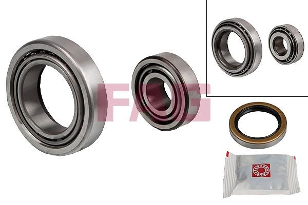 Roulement roue avant FAG 713 6121 20 (X1)