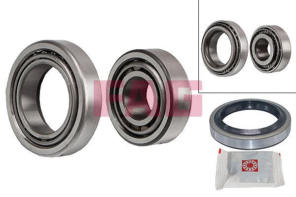 Roulement roue avant FAG 713 6121 30 (X1)