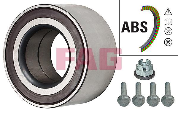 Roulement de roue FAG 713 6122 60 (X1)