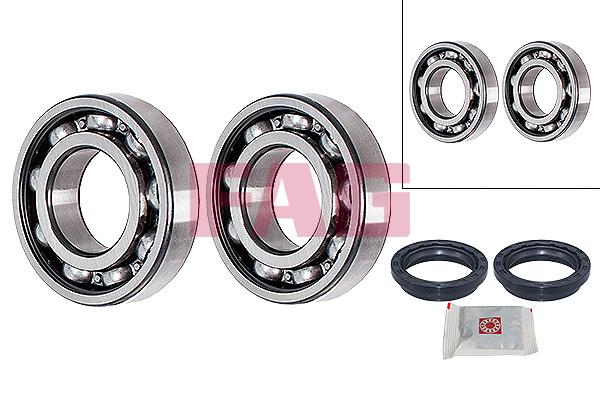Roulement de roue FAG 713 6220 10 (X1)