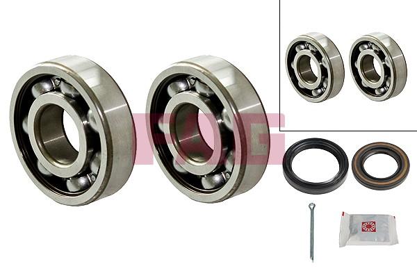 Roulement de roue FAG 713 6220 20 (X1)
