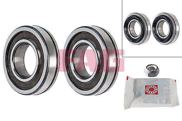 Roulement de roue FAG 713 6301 50 (X1)
