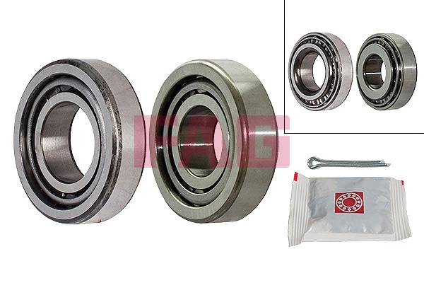 Roulement de roue FAG 713 6302 10 (X1)