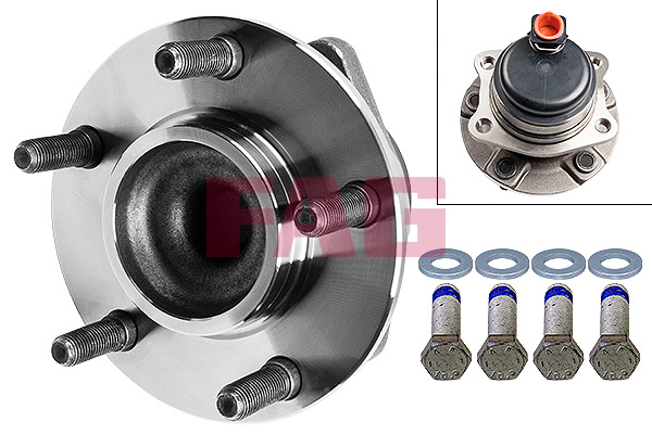 Roulement de roue FAG 713 6702 10 (X1)