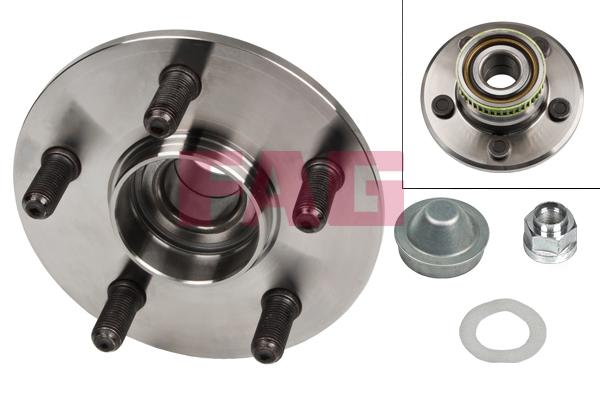 Roulement de roue FAG 713 6702 40 (X1)