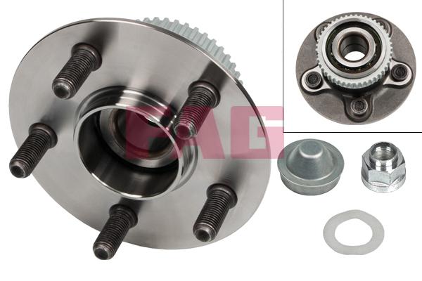 Roulement de roue FAG 713 6702 70 (X1)