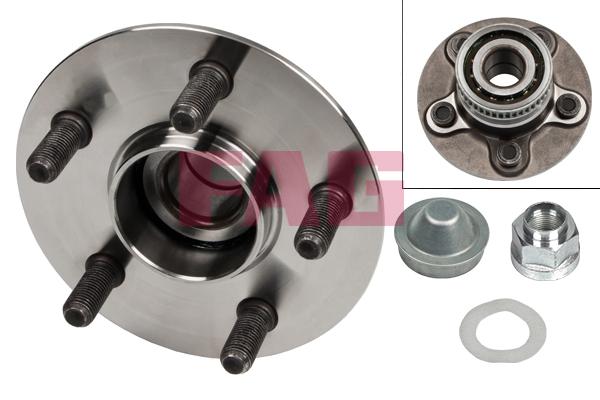 Roulement de roue FAG 713 6702 80 (X1)