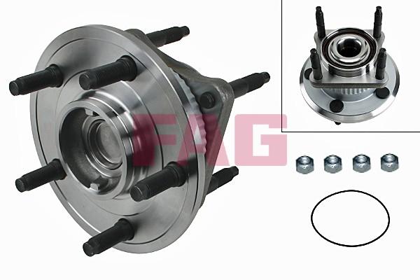 Roulement de roue FAG 713 6704 00 (X1)