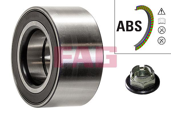 Roulement de roue FAG 713 6784 10 (X1)