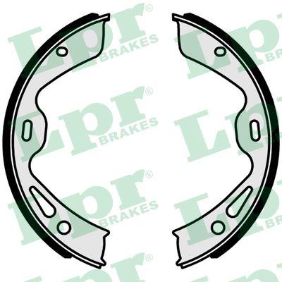 Jeu de mâchoires de frein de frein à main LPR 01042 (Jeu de 4)