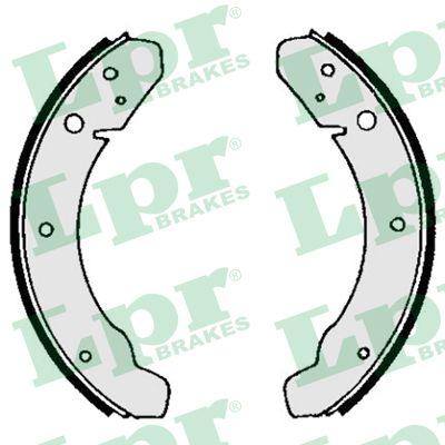 kit de frein arrière simple ou prémonté LPR 03890 (Jeu de 4)