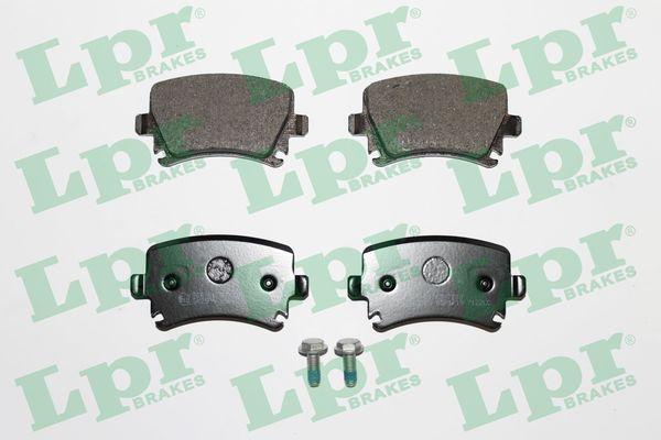 Plaquettes de frein arriere LPR 05P1219 (Jeu de 4)