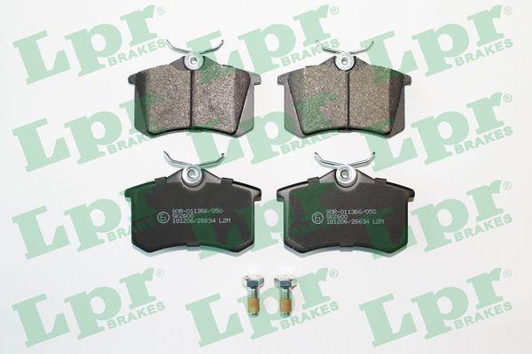 Plaquettes de frein LPR 05P634 (Jeu de 4)