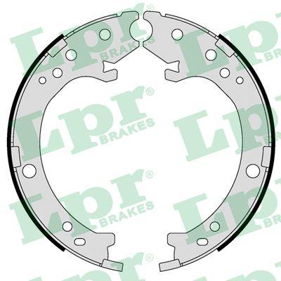 Jeu de mâchoires de frein de frein à main LPR 09410 (Jeu de 4)