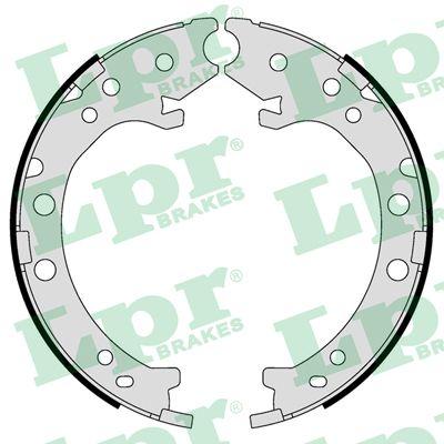 Jeu de mâchoires de frein de frein à main LPR 09420 (Jeu de 4)