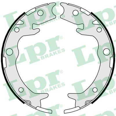 Jeu de mâchoires de frein de frein à main LPR 09790 (Jeu de 4)