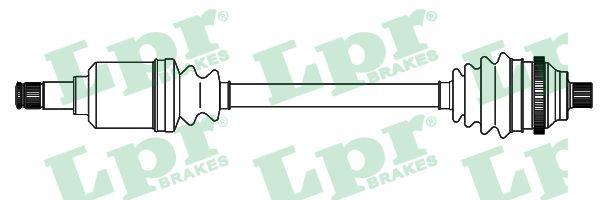 Cardans (arbre de transmission) LPR DS52599 (X1)