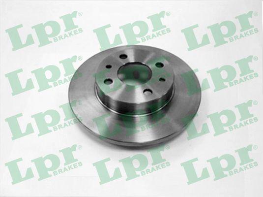 Disque de frein LPR F2081P (X1)