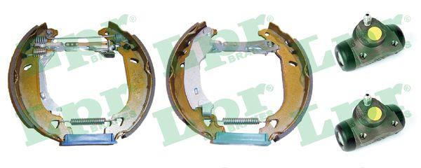 kit de frein arrière simple ou prémonté LPR OEK046 (Jeu de 2)