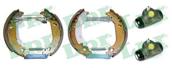 kit de frein arrière simple ou prémonté LPR OEK308 (Jeu de 2)