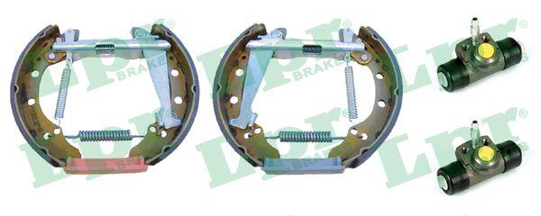kit de frein arrière simple ou prémonté LPR OEK341 (Jeu de 2)