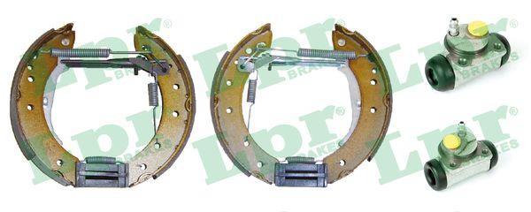 kit de frein arrière simple ou prémonté LPR OEK409 (Jeu de 2)