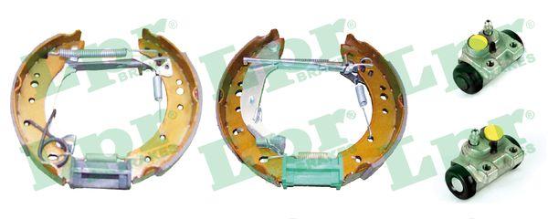 kit de frein arrière simple ou prémonté LPR OEK518 (Jeu de 2)