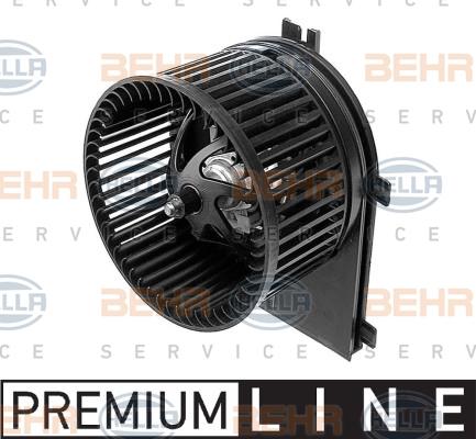 Chauffage et climatisation HELLA 8EW 009 100-301 (X1)