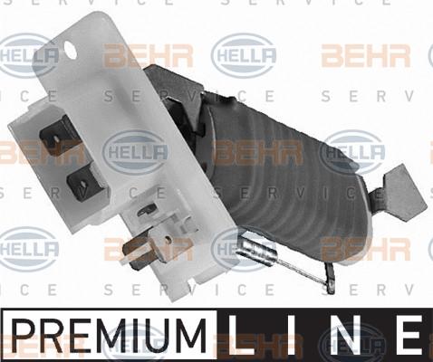 Resistance moteur de ventilateur de chauffage HELLA 9XX 009 122-001 (X1)