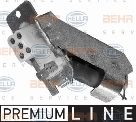 Resistance moteur de ventilateur de chauffage HELLA 9XX 009 122-021 (X1)