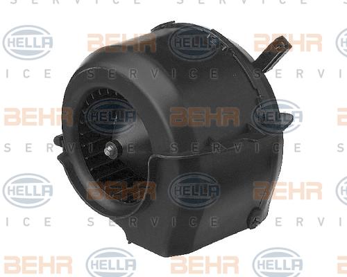 Chauffage et climatisation HELLA 8EW 009 159-041 (X1)