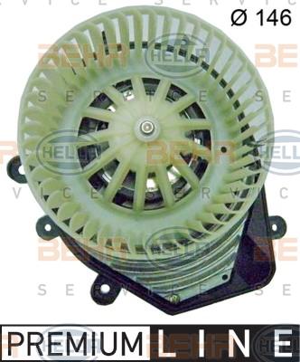 Chauffage et climatisation HELLA 8EW 009 159-081 (X1)