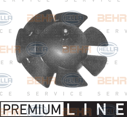 Chauffage et climatisation HELLA 8EW 009 160-301 (X1)